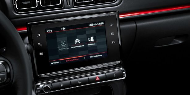 2017 Citroen C3 7-inch touchscreen