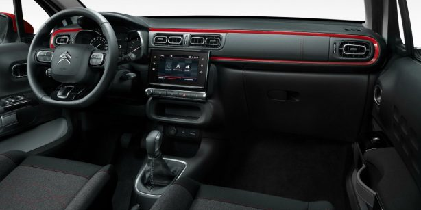 2017 Citroen C3 dashboard