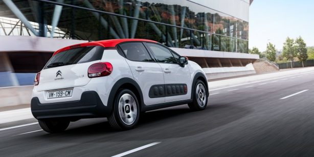 2017 Citroen C3 rear quarter
