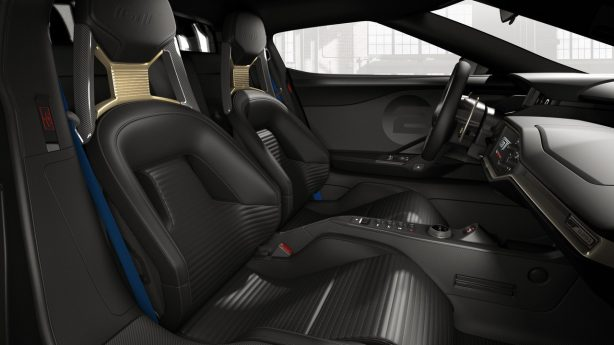 2017 ford gt '66 heritage edition seats