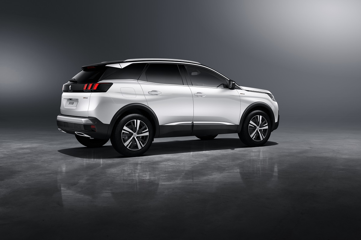peugeot 3008 range extends to gt and gt line. Black Bedroom Furniture Sets. Home Design Ideas