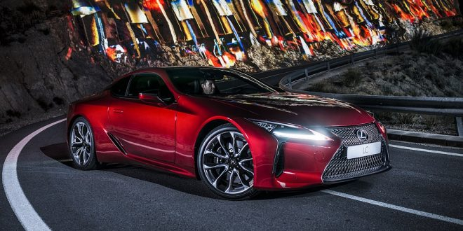 "Lexus LC dazzles in ""Into the Light"" spectacle [video]"