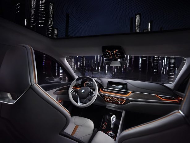 bmw compact sedan concept interior