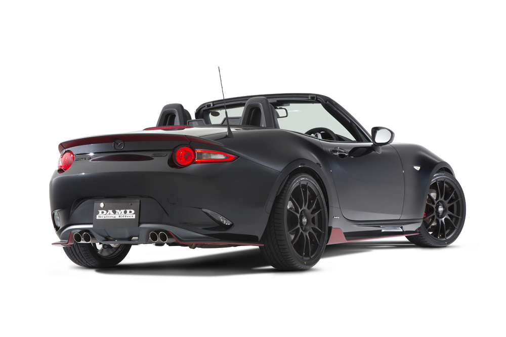 damd spices up mazda mx 5. Black Bedroom Furniture Sets. Home Design Ideas