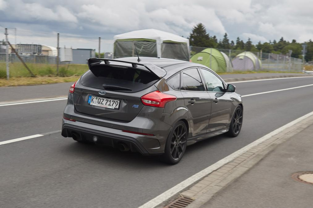 2017 Ford Focus RS500 spied