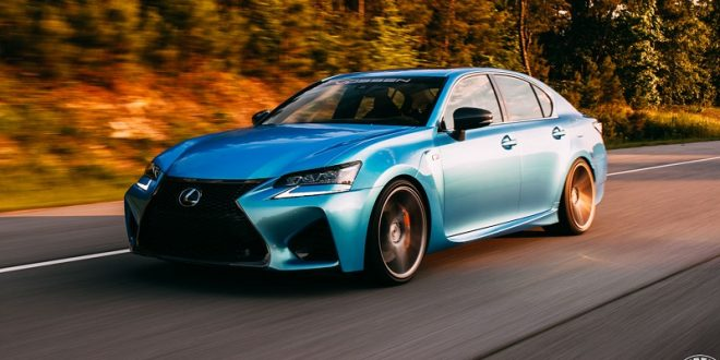 Lexus GS F goes aggressive with Vossen Wheels