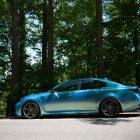 lexus-gs-f-vossen-wheels-wrapped-side