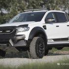 m-sport tuned ford ranger front quarter