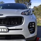 2016 Kia Sportage platinum front