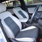 2016 Kia Sportage platinum front seats