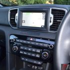 2016 Kia Sportage platinum infotainment screen