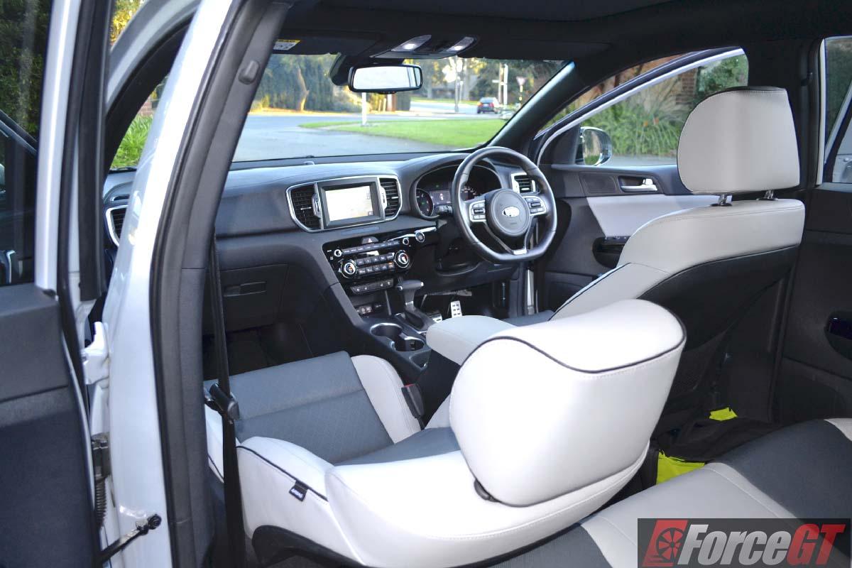 2016 kia sportage platinum interior for Interior kia sportage