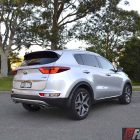 2016 Kia Sportage platinum rear quarter-1