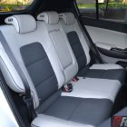 2016 Kia Sportage platinum rear seats
