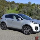 2016 Kia Sportage platinum side