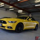 2016-ford-mustang-gt-convertible-front-quarter-roof-closed