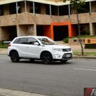 2016 suzuki vitara s-turbo front quarter motion