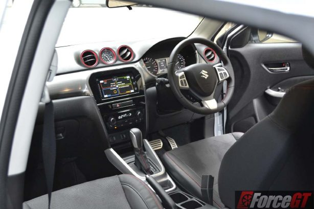 2016 suzuki vitara s-turbo interior