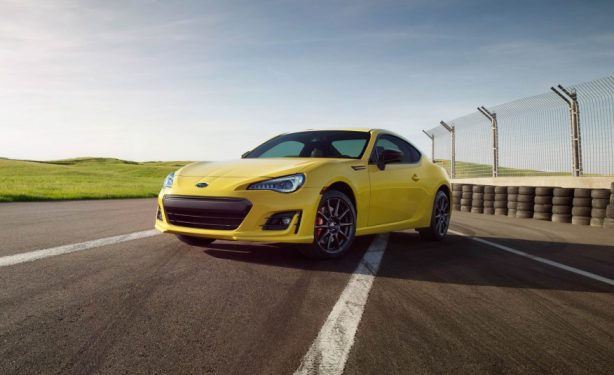 2017-Subaru-BRZ-Series-Yellow-front-quarter