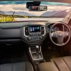2017 holden colorado interior