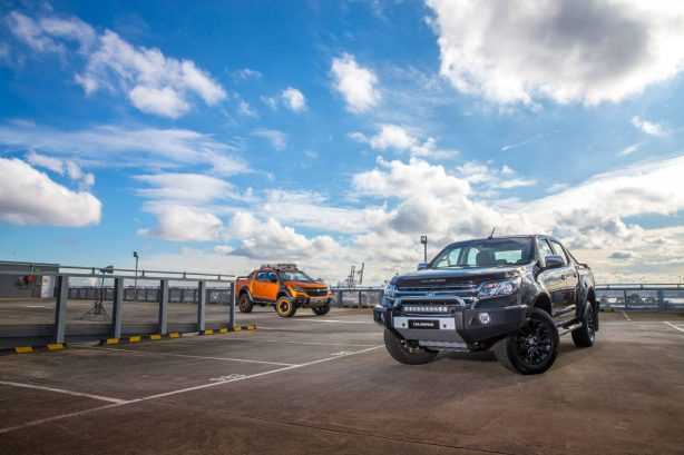 2017 holden colorado ltz and xtreme