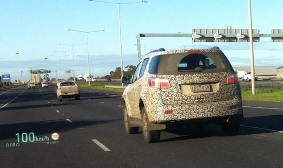 Holden Trailblazer snapped on Oz roads ahead of late 2016 arrival