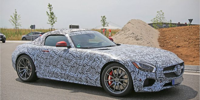 Spotted: Mercedes-AMG GT Roadster comes out to play