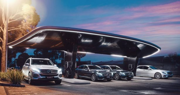 Mercedes-benz plug-in hybrid range