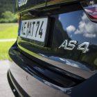 abt audi as4 rear badge