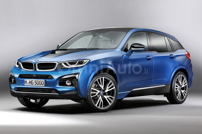 Bmw Rumoured To Be Working On Electric I5 Suv