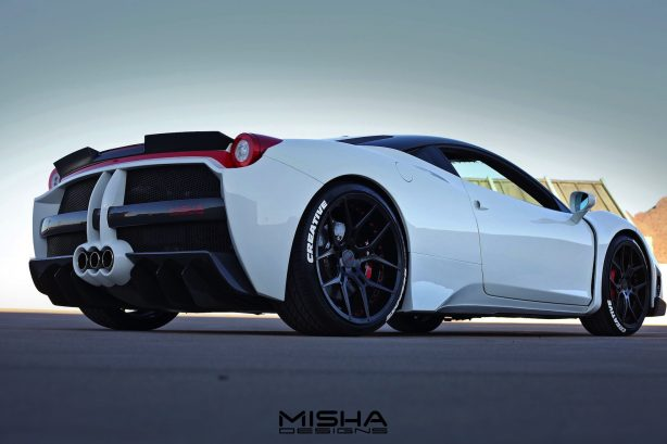 ferrari 458 italia by misha design rear quarter-1