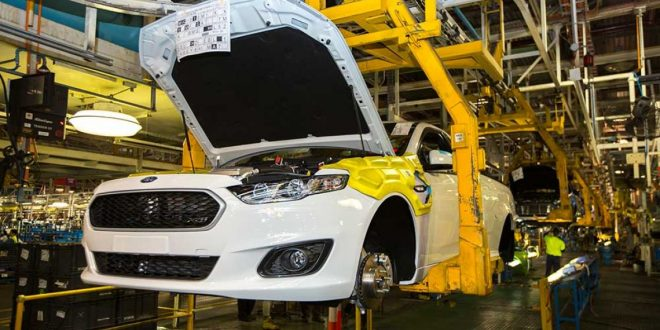 Last ever Ford Falcon Ute leaves Broadmeadows factory