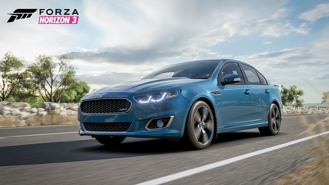 ford falcon xr8 amongst 350 cars announced for forza horizon 3. Black Bedroom Furniture Sets. Home Design Ideas