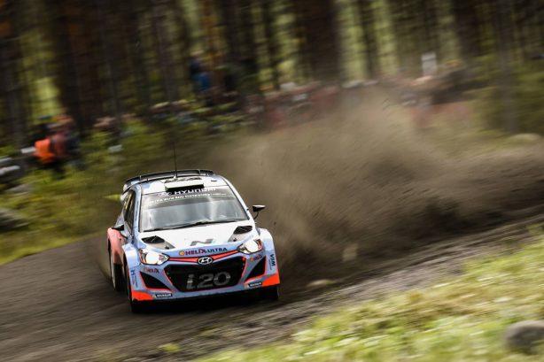 hyundai i20 wrc rally finland