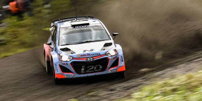 Hyundai Motorsport aiming for podium at Rally Finland