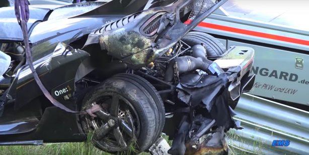 koenigsegg one 1 nurburgring crash-1