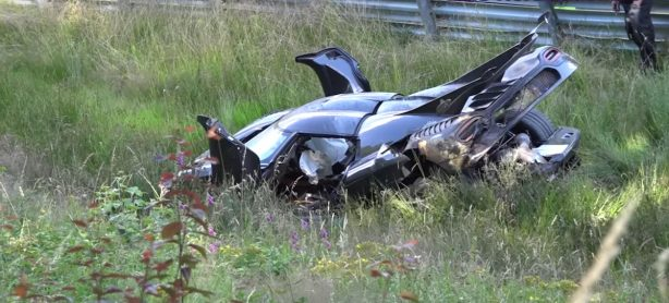 koenigsegg one 1 nurburgring crash