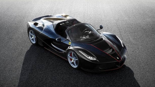 laferrari spider front quarter