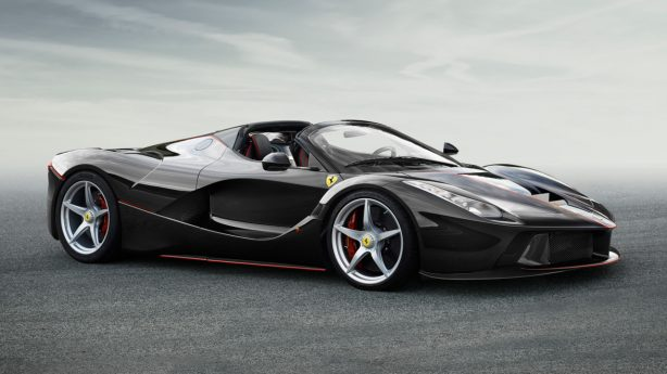 laferrari spider side