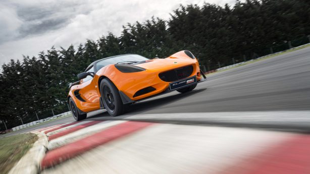 lotus elise race 250 front
