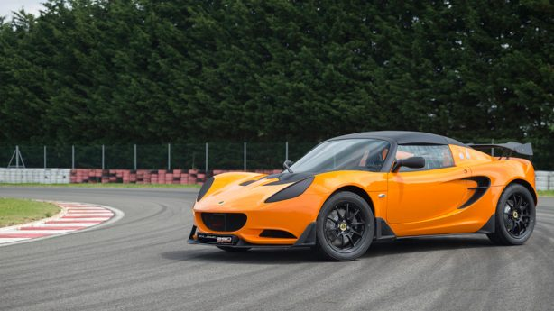 lotus elise race 250 front quarter