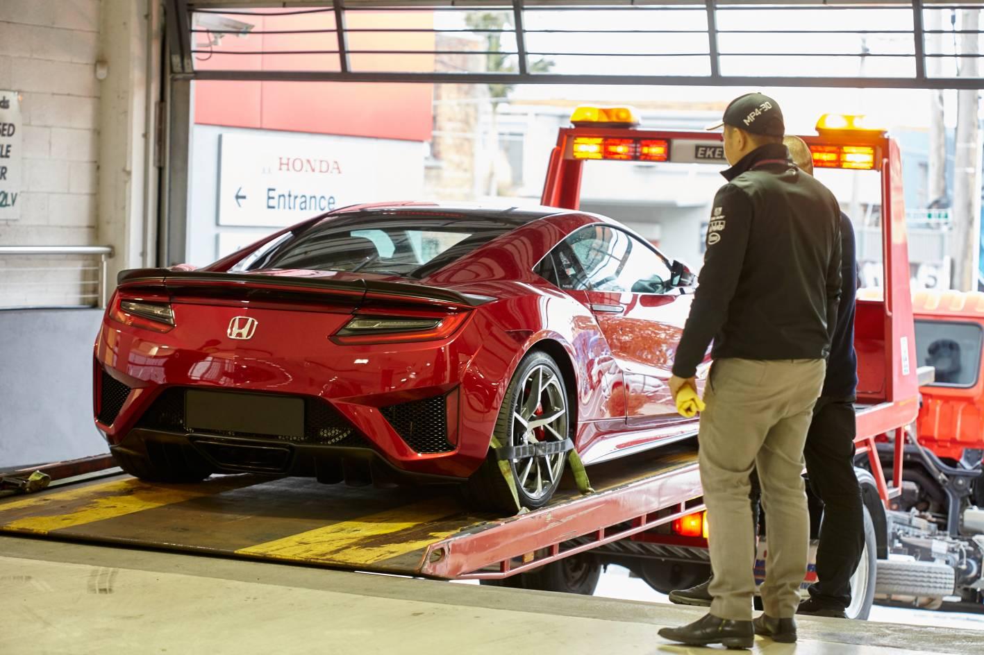 All New Honda Nsx Rolls Into Australian Showroom Forcegt Com