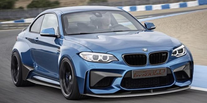 PSM Dynamic previews widebody BMW M2