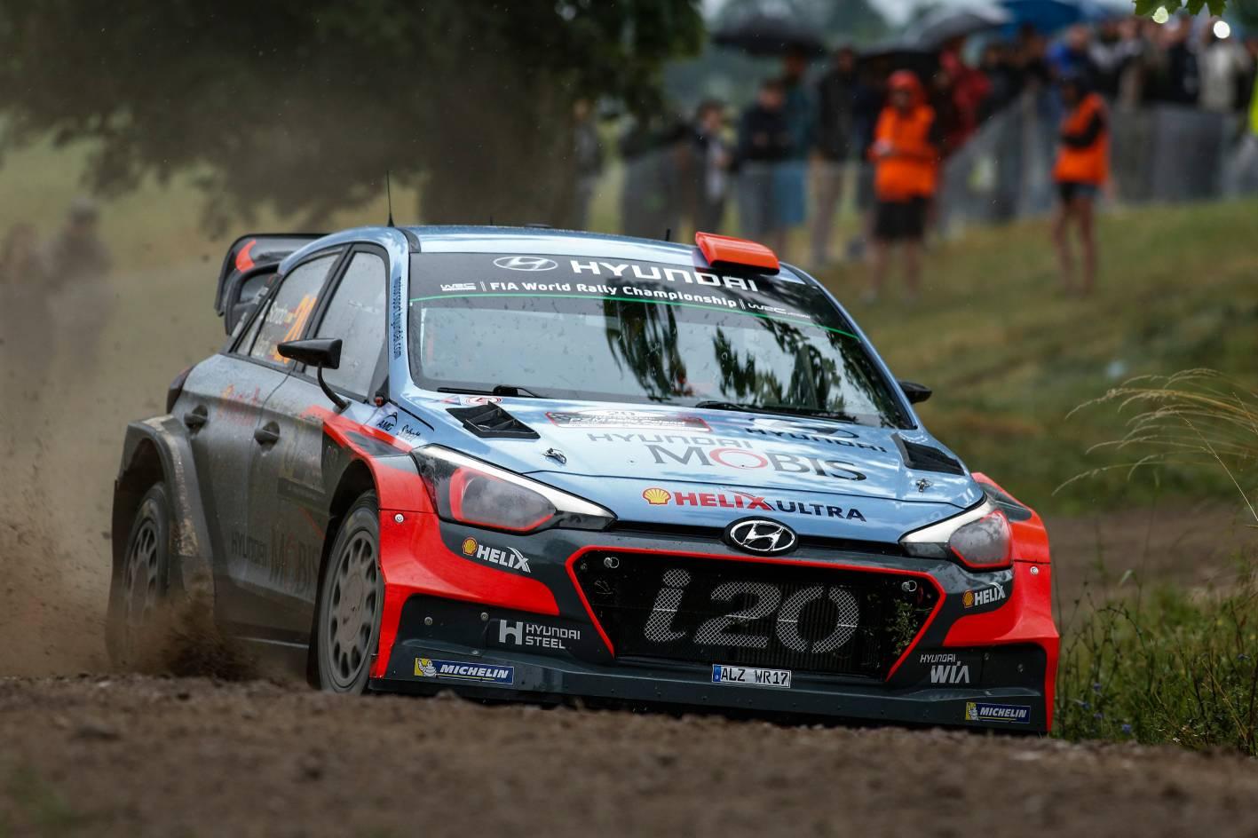 Toyota Supra 2016 >> Hyundai Motorsport finished 3rd & 4th at Rally Poland