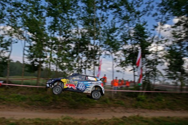 rally poland volkswagen polo r wrc side