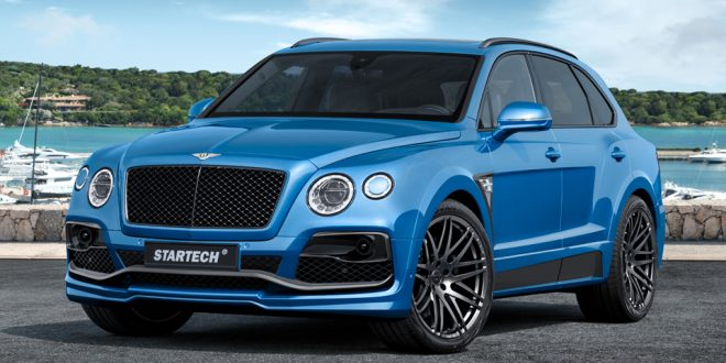Startech pumps up Bentley Bentayga with widebody kit