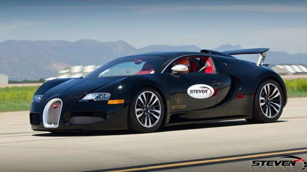steven racing bugatti veyron front quarter