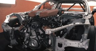 toyota 86 chassis with ferrari v8