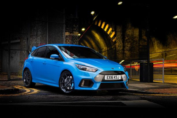 2016 ford focus rs mountune upgrade front quarter