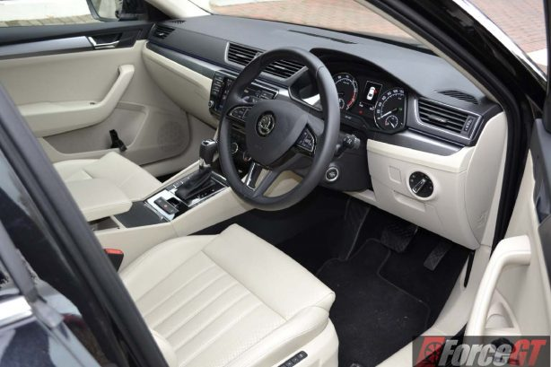 2016 skoda superb 162tsi sedan interior